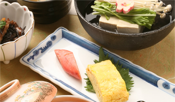Breakfast, Japanese set meal