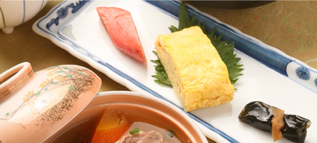 Breakfast, Japanese set meal