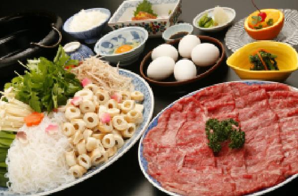 beef sukiyaki Package!!